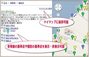 街区基準点配置図 特徴1
