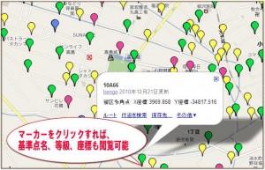 街区基準点配置図 特徴2
