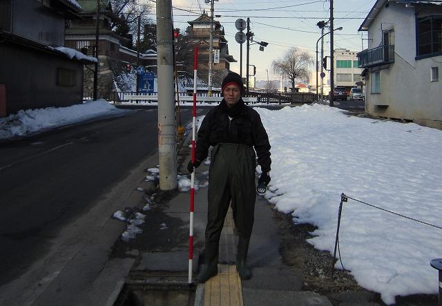 高島城と記念撮影