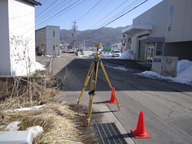 GPSによる基準点測量(世界測地系) 【長野県諏訪市】 40,000円